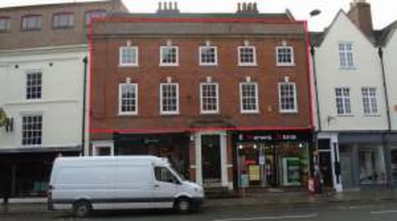 Self-contained first and second floor offices within attractive Georgian building. Net Internal Area 233.8 sq.m. / 2,516 sq.ft. Ground floor entrance and reception off Friar Gate....