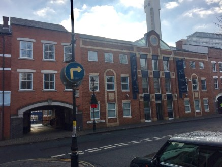 Under Offer]\n\nSUBSTANTIAL OFFICE PREMISES with AMPLE PARKING in ST PAULS SQUARE. Benefitting from large imposing entrance, cellular offices, and SECURE CAR PARK - Total (NIA) 11,200 ft2 (1,040....