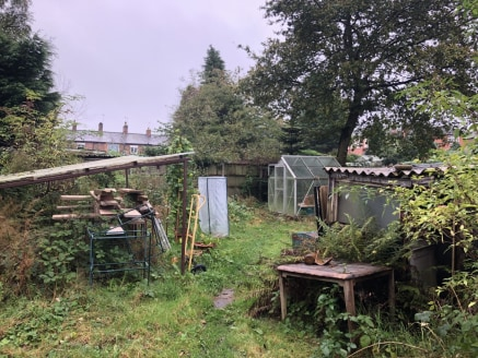 Location  The property is located on the periphery of Nantwich approximately 1 mile to the east of the town centre to the rear of 175 Crewe Road.   Description   The property comprises allotment/garden land extending to 185 sq. m (1,991 sq. ft), situ...