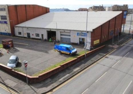 The unit has the following specification:-  Concrete frame construction.     Part brick, part profile steel clad elevations sitting beneath a pitched roof.  Trade counter entrance fronting Manchester Road.  Offices, canteen and wc facilities.  2no. e...