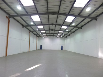 Refurbished industrial/warehouse unit situated adjacent to Eastern...