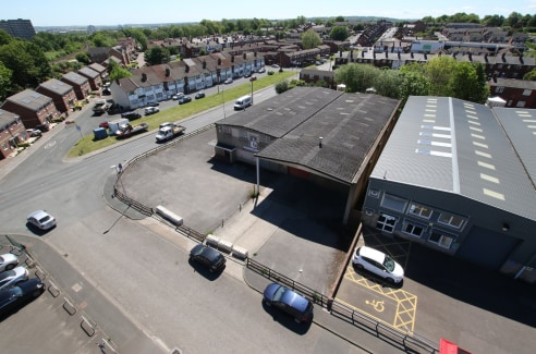 The property occupies a prominent position at the corner of the cul-de-sac Chelsea Close and Amberley Road within an established industrial area. The property comprises a detached two bay industrial unit of steel frame construction underneath a pitch...