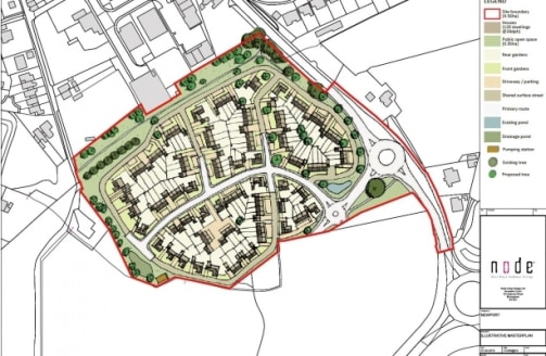 The property comprises a substantial development site of approximately 10.5 acres (4.25 hectares) with outline planning permission for residential development....