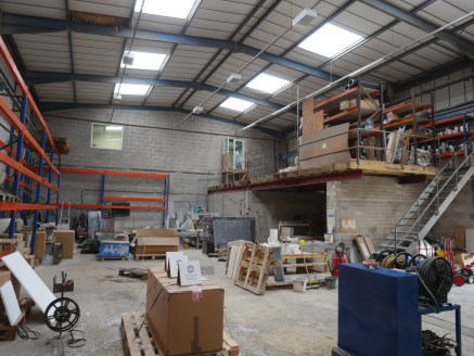 The property is currently arranged as a manufacturing facility with offices, showroom and generous yard areas. The Detached building is L- Shaped and of steel portal frame construction with elevations of concrete block wall and profiled steel claddin...