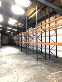 This double-bay unit of steel portal frame construction provides good quality workshop/warehouse accommodation totalling a little under 20,000 sq.ft. along with further external workshop facilities of approximately 700 sq.ft. There are WC facilities...