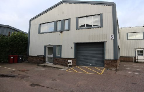 Refurbished two storey business unit with workshop / storage on the ground floor and an open plan office at first floor.