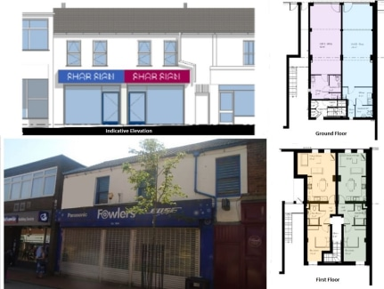 The subject property comprises a ground floor retail unit is configured to provide an open plan retail area with an office/kitchen located to the rear together with a small ancillary store and WC.   At present the ground floor retail unit is finished...