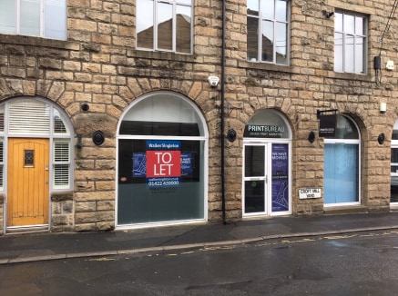The property comprises part of the ground floor of a three storey stone built mill conversion located on Albert Street in the centre of Hebden Bridge.  The available unit is configured to offer an open plan sales area with a partitioned office to the...