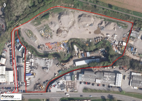 Freehold site.  Approximately 5.69 acres (2.30ha) .  Allocated employment land.  Road frontage.  Strategic location for Bath & Bristol.