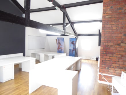 The accommodation comprises a series of office suites within a four storey former mill premises of traditional design and construction. The space has been fitted out to a high standard with a character feel with the fitout including exposed brickwork...