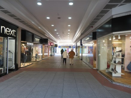 A prime retail unit arranged on ground and first floor levels.