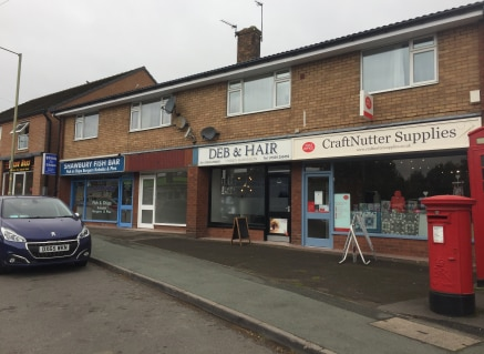 Retail unit to let comprising 329 sq ft located in a prominent location in the centre of Shawbury.  The property is available by way of a new effectively Full Repairing and Insuring lease at a rent of £9,500 per annum.