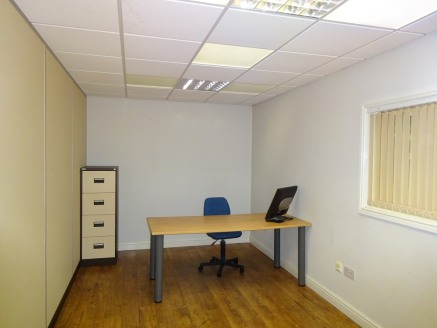 The subject property comprises a self contained office suite located predominantly at first floor level along with a ground floor shared reception area and disabled WC facility.   The accommodation provides three separate partitioned offices in addit...