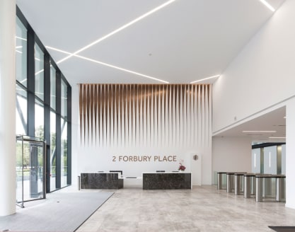 Part of the Forbury Place estate, 2 Forbury Place will provide a new office headquarters, combining stunning modern design with a high quality specification. Its impressive size and town centre location makes Forbury Place a rare opportunity in the S...