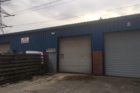 SMALL INDUSTRIAL UNIT - UNDERGOING REFURBISHMENT