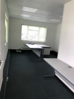 NEWLY REFURBISHED. Situated in Cheshunt industrial area with good transport links to London we are pleased to offer this 1ST FLOOR OFFICE to let. Electricity, water and business rates are inclusive. CCTV on site. Parking available plus access to a vi...