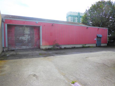 Light industrial premises with full height roller shutter door and additional personnel...