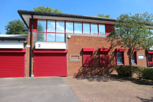 Refurbished business unit suitable for light industrial, R&D, storage and office uses on a modern business park with easy access to both the M3 and M4 motorways.