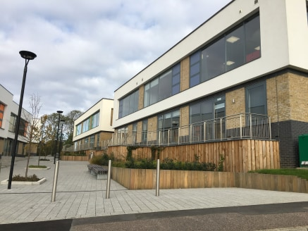 Providing a modern two storey terraced Grade A office building, the accommodation offers an open plan design benefiting from central heating and comfort cooling, wc and kitchen facilities with glazed elevations which provide excellent levels of natur...