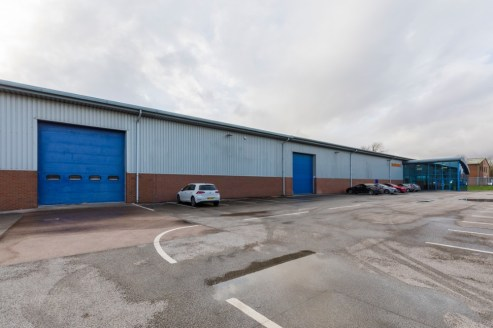 Industrial building upgraded for Hi-Tech process and production.