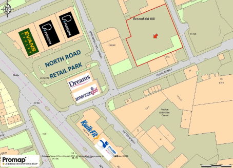 Comprising a regular shaped and relatively level site, that once housed a former mill premises, and which was subsequently demolished. The site extends to approximately 0.58 acres (25,268 sq ft) and is partially surfaced, by way of the old, presumabl...