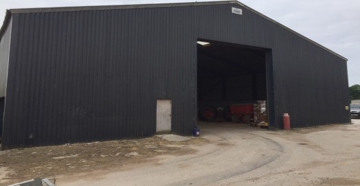The property comprises a steel framed industrial unit which has been clad in profile metal cladding. The property benefits from a solid concrete flooring, metal roller goods shutter, three phase electric, 6m eaves height rising to 9m at the apex. WC...
