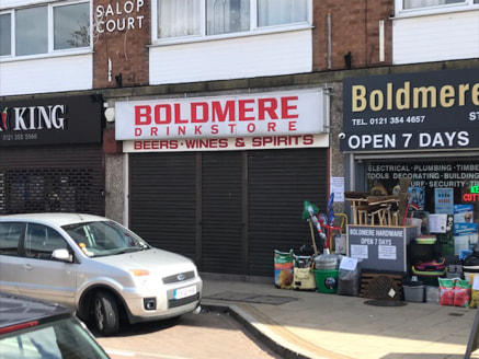 23 Boldmere Road is well-positioned on a parade of shops close to the junction with Jockey Road and approximately 0.5 miles north of the Chester Road (A452). This shop in Sutton Coldfield to let is in a busy and popular retail location serving the lo...