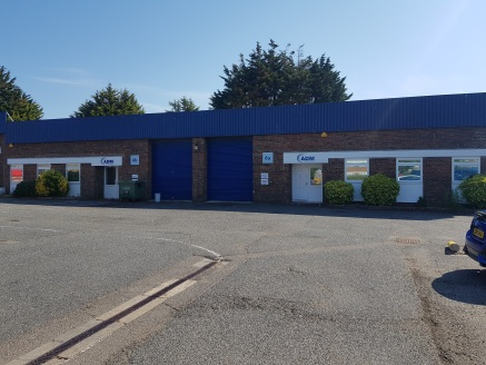 Industrial/Warehouse Premises - TO BE REFURBISHED  313.35 sq m - 681.61sq m (3,373 sq ft - 7,337 sq ft)