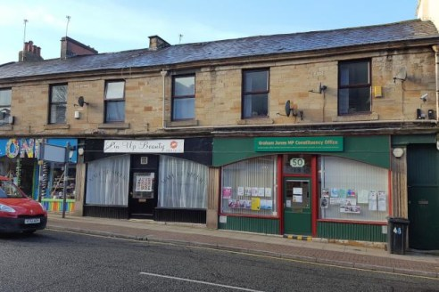 Investment for sale fully let 3 ground floor retail outlets with 2 separate S/C 2 bedded flats well established trading location...