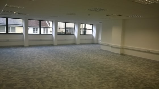 The space is located on the lower ground floor of this modern office building which benefits from energy efficient air-conditioning and ventilation system to all office areas and a rectangular well-lit open plan office.