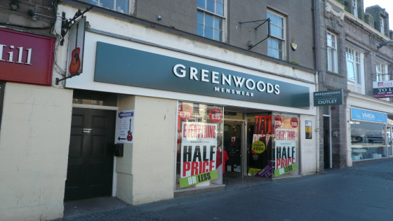The property is located in a prominent location along Marygate, the principal retailing destination within Berwick Upon Tweed with nearby retailers including 02, Edinburgh Woollen Mill, Cafe Nero, WH Smith and Costa.  1,629 SQ FT over ground, first a...