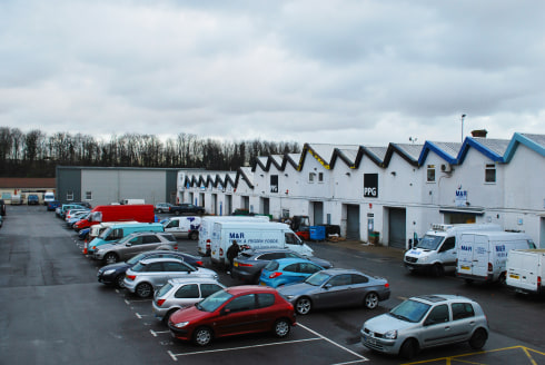 Four Industrial Units   Total Size 1,381 sq m (14,865 sq ft)