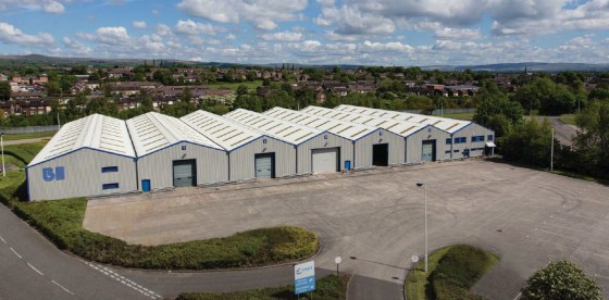 Eaves height of 5.62m. Warehouse lighting. Substantial concrete yard area. Part portal and part steel frame construction. Fully fitted two storey offices. Dedicated self-contained car parking area. Cross loading with 8 dock level loading doors and 5...