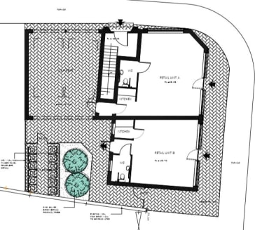 The new build units are on the ground floor of a three storey brand new development. Both units boast frontage onto the busy Bath Street, with Unit 1 also having frontage onto Pelham Avenue. Both properties are to be fitted out to a modern specificat...