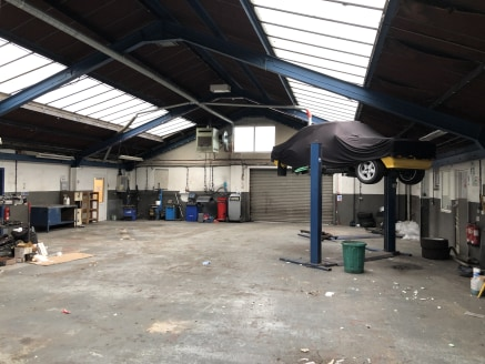 Self contained detached showroom with dedicated car parking / display area on a site of 0.68 acres  7,963 sq ft  Rent - On application