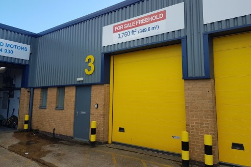 Refurbished Industrial Unit Backing on to Nuffield Road