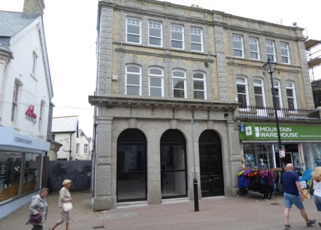 A prime retail unit with first and second floor offices/ancillary plus a small basement. Retail area 1,674 sq ft (155.52 sq m). Offered by way of a new lease at a rent of £45,000 per annum....
