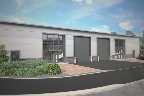 Speculatively built business units of 2,325 sq.ft....