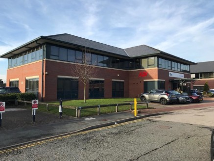Chatsworth House is of steel frame construction with brick elevations and tiled pitched roof. The available space is located on Ground Floor, which offers a generous entrance reception area, both offices are open plan in design with communal WC and k...