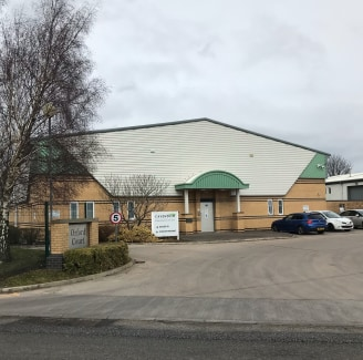 A modern detached warehouse of steel portal frame construction with profile, insulated steel cladding and part brick elevations. There is a height to eaves of 5.6m.  The amenity areas include open plan offices, meeting room and managers office, toget...
