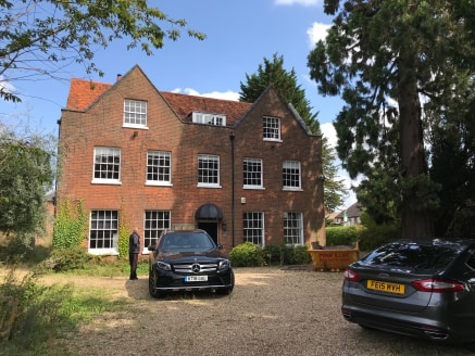 WG House is an imposing Grade II Listed building located in a prominent location at the junction of Cressex Road and Marlow Road, close to Junction 4 of the M40 and approximately 1½ miles south of High Wycombe town centre. The M40 provides good acces...