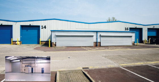 Warehouse/Industrial Area * Approximately 17.4ft (5.3m) to the eaves * Colour coated, angular profiled steel roof * Double skin roof lights to the warehouse area * Security shutters to windows and doors * Electric roller shutter door 15.6ft (4.8m) wi...