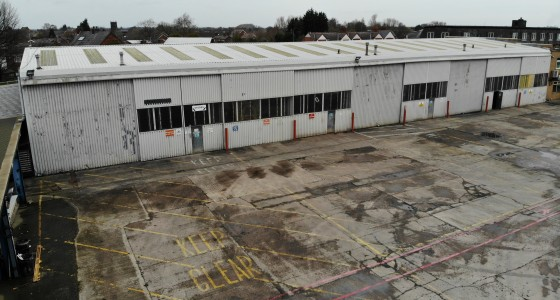 Clear internal eaves height of 5.8m. 3 inspection pits. Warehouse lighting and heating. 5 level access doors. 3 phase electricity. Share secure yard together with ample car parking to the front of the site.