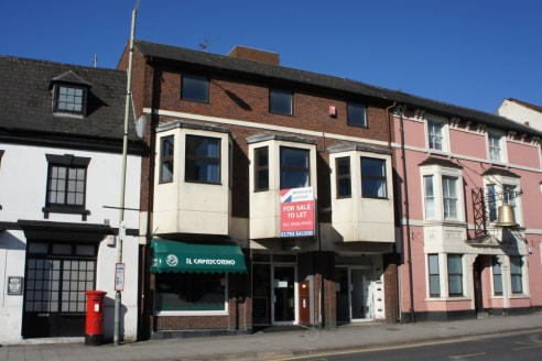 Marlborough House is situated on the High Street in the Old Town area of Swindon. This is a popular location, long established as one of Swindon's preferred office locations. Marlborough House is arranged over three floors accessed via a central stai...
