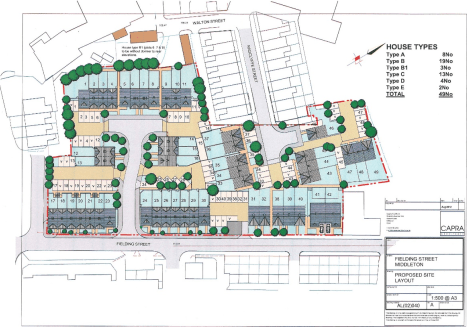The property has a long frontage to Fielding Street, it extends to just over 2 acres and is set on a gentle slope.  Outline planning consent was granted in June 2012 for the erection of 49 houses. It is understood that planning has now lapsed but the...