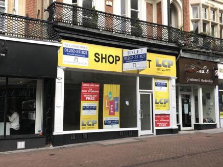 <p>The property occupies a prominent position on the busy pedestrianised section of Old Christchurch Road within Bournemouth town centre. The entrance to the Richmond Gardens Shopping Centre is nearby, which in turn connects with the multi-storey car...