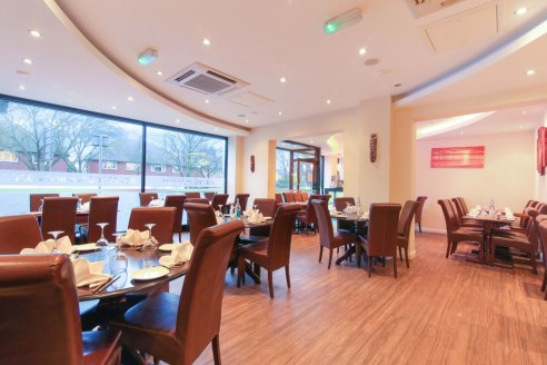 CSJ Property Agents Offer this spacious A3 restaurant to let. Available Now. Large Garden. 68 Covers. Currently trading as an Indian Restaurant and Takeaway. Sub-lease available 19 years remaining. Rent : £35,500p/a.