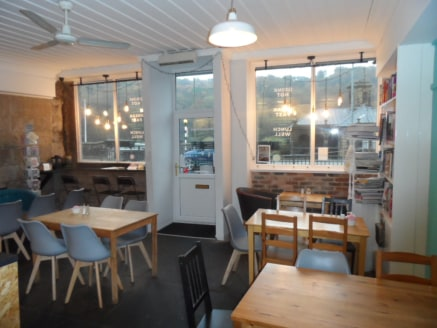 The property comprises a well presented seating/dining area with serving counter (34 capacity), commercial kitchen and adjoining take-away service. Relevant w/c facilities are also provided.  The Park End Cafe is an established locally run business w...