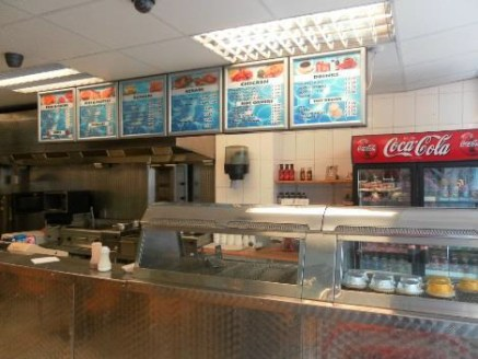 Traditional Fish & Chip Shop In Leicester For Sale\nRef 2002\n\nLocation\nThis outstanding concern is located in a prime and prominent location in the heart of Leicester town centre. It's close to the railway station and ensures high levels of footfa...