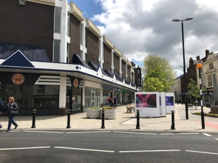 The property comprises an extremely prominent retail unit, fronting the busy and popular pedestrianised High Street.